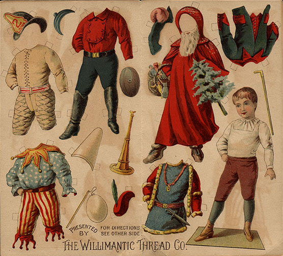 Image result for vintage 19th century paper dolls